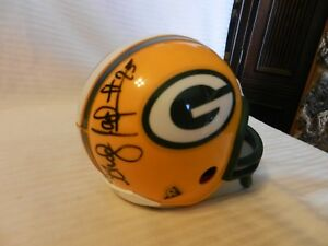 Grady Jackson #75 Green Bay Packers Signed Mini Helmet Desk Caddy