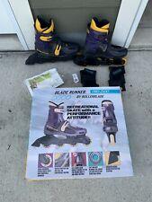 Blade Runner Pro 2500 Inline Skates Roller Blades Sz 8 UniseX W/ Box