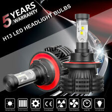 H13 9008 LED Headlight Kit Bulbs Cool White 6500K 1500W 225000LM High Power Lamp