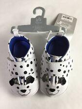12 18 M DISNEY STORE Black White 101 DALMATIONS Sneaks Sneaker Baby Boy Girl NWT