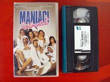 VHS.09) MANIACI SENTIMENTALI - RCS (RICKY TOGNAZZI, BARBARA DE ROSSI, S.IZZO)