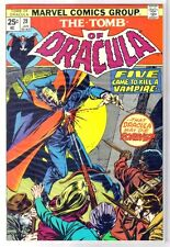 TOMB of DRACULA #28 Five Came to Kill a Vampire! Marvel Comic Book ~ VF