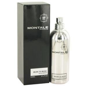 Montale Musk To musk by Montale Eau De Parfum Spray (Unisex) 3.4 oz for Women