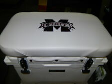 Yeti 45 qt & Others Cooler Cushion White Mississippi State Free Shipping