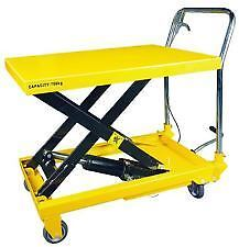 SCISSOR LIFT - 150 KGS PART NO. WH754002