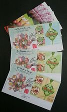 Malaysia Malay Festival Food 2017Cuisine Delight (special Fdc) *signed *rare