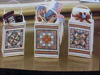 Cross Stitch Kit Madison Avenue Totes Quilt Series 11-06522 18 Ct Aida Jan Way