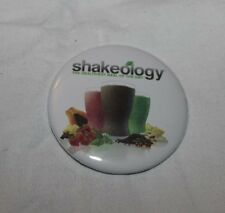 Shakeology Tony Horton White Shakes logo Team Beachbody Coach Pinback Button NEW