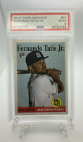 2019 Topps Archives Fernanado Tatis JR #75 Rookie Card RC PSA 9 Mint🔥📈
