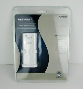 Harbor Breeze Universal Ceiling Fan Remote Control #07453581 Speed Off-white