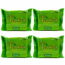 Derma Tech Solutions V10 25 Tea Tree Cleansing Wipes