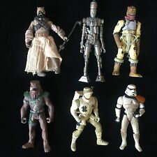 6 X Star Wars Vintage Action Figure Toy Job Lot Bundle