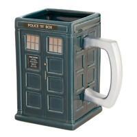 DOCTOR WHO - TARDIS - CERAMIC SCULPTED MUG - BRAND NEW 20 OUNCES - 56414