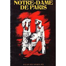 Notre DAME de PARIS d'après le Roman de VICTOR HUGO mise en scène Robert HOSSEIN