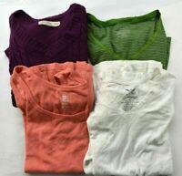 Wholesale Lot of 4 Women's Size Large Faded Glory Mixed Season Sweater Tops