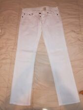676180eeb8ca MAURO GRIFONI Jeans donna TG 30 Colore Bianco