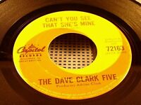 DAVE CLARK FIVE - Can't You See That She's Mine - 1964 VG+ CANADA PRESS Capitol