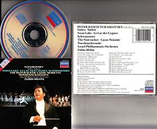 W.GERMANY PDO FS- TCHAIKOVSKY Ballet Suites MEHTA CD (Swan Lake/Nutcracker)