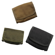 Tactical Molle Rifle Stock Ammo Mag Pouch Bullet Bag Case Pack Foldable