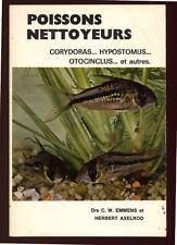 EMMENS & AXELROD, LES POISSONS NETTOYEURS : CORYDORAS, HYPOSTOMUS, OTOCINCLUS