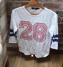 Topman Football Americano Stile T-Shirt Piccoli