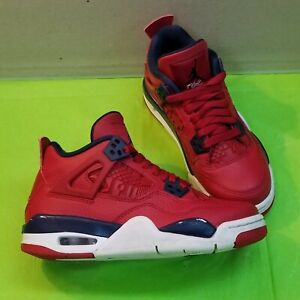 "🔥👟 Nike Air Jordan IV 4 Retro ""FIBA"" 408452-617  size 3.5Y"