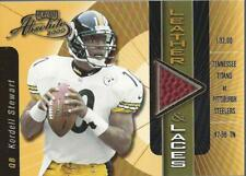 2000 Absolute Leather and Laces #KS10 Kordell Stewart Ball /350 - NM-MT