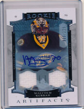 15-16 Artifacts Malcolm Subban Jersey Auto Rookies /125