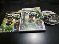 Tom Clancy's Splinter Cell: Chaos Theory (Microsoft Xbox, 2005) CIB! W/ REG CARD