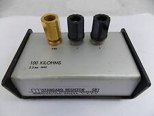 ESI STANDARD RESISTOR SR1 100 KILOHMS 2.3mA MAX