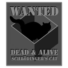 "Wanted Dead And Alive car bumper sticker decal 5"" x 4"""
