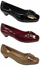Court Synthetic Leather Comfort Plus Shoes for Women