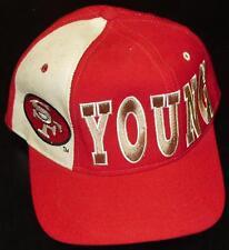 STEVE YOUNG San Francisco 49ers 90s Snapback hat STARTER New Original Deadstock
