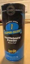 New listing Sun-Glo Shuffleboard Powder #1 Super Glide.  FREE Shipping
