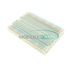2Pcs Mini Prototype Solderless Breadboard 400 Contacts For arduino Raspberry pi