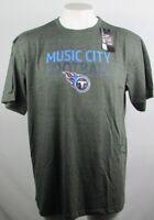 Tennessee Titans Mens Big & Tall Charcoal Majestic Music City Football Tee NFL