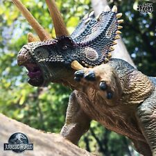 Repainted Schleich Dinosaur Cretaceous Jurassic World Styracosaurus Ceratops