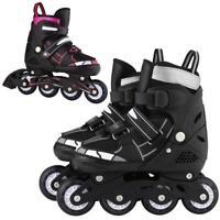 Roller Inline Skate Shoes Adjustable  Flash Wheel for Kids /Adult Indoor/Outdoor