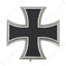 VAULTED 1914 IRON CROSS 1st CLASS  Antique - Repro Military Medal - Pin Back