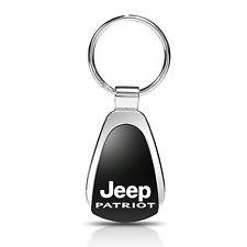 Jeep Patriot Black Tear Drop Key Chain