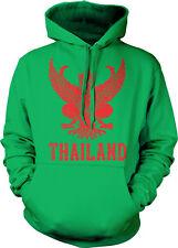 Thailand Symbol Thai Distressed Country Born From Kingdom THA Hoodie Sweatshirt