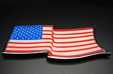 AMERICAN FLAG METAL 3D EMBLEM DECAL STICKER LOGO FOR CAR AND TRUCKS