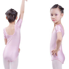Girls Kids Ballet Dance Tutu Dress Toddler Leotard Dancewear Party Skating Skirt