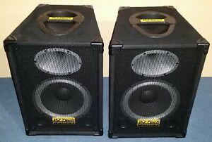 DJ-Tech Professional SX-10 2-Wege PA-Lautsprecherboxen