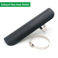 Exhaust Pipe Heat Shield Guard For Harley Dyna Electra Glide Sportster Shadow