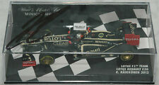 Kimi Raikkonen Signed Minichamps 1/43 Lotus Racing 2012 Model