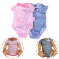 Doll Clothes For 43cm Zapf Baby Born Doll Jumpsuit Suit Doll Accessories GiftsJB