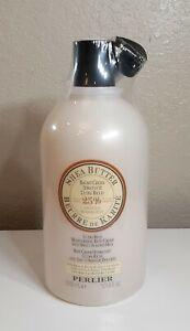 Perlier 25% Shea Butter w Sweet Almond Milk Bath Shower Cream 101.4 oz 3L Sealed