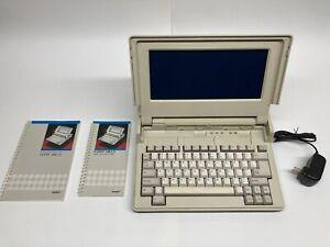 Tandy 1400 LT Vintage MS-DOS Laptop Computer w/ CF Card Hard Drive +100 Programs