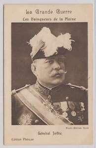 B2778 : 1910's France Général Joffre Ww I Carte Postale